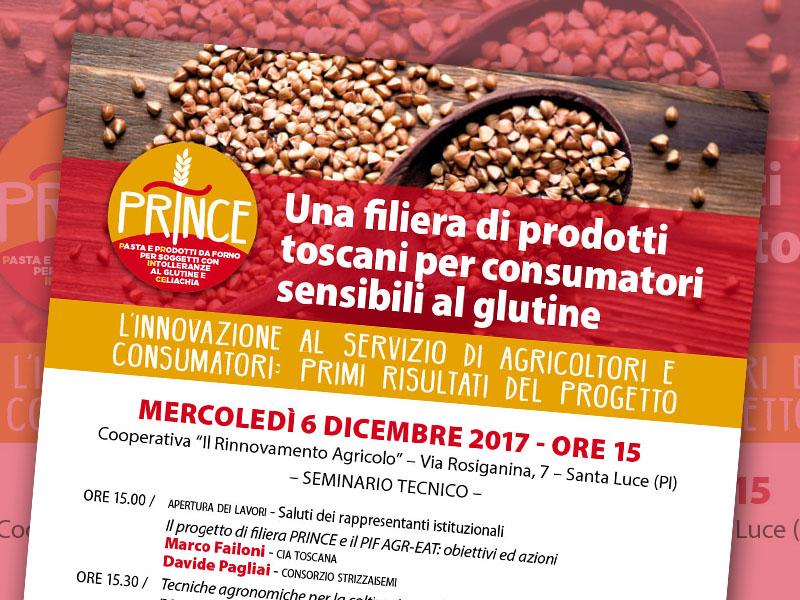 6 dicembre 2017. Una filiera di prodotti toscani per consumatori sensibili al glutine